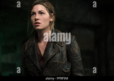 RELEASE DATE: November 9, 2018 TITLE: Overlord STUDIO: Paramount Pictures DIRECTOR: Julius Avery PLOT: The story of two American soldiers behind enemy lines on D Day. STARRING: MATHILDE OLLIVIER as Chloe. (Credit Image: © Paramount Pictures/Entertainment Pictures) - Stock Photo