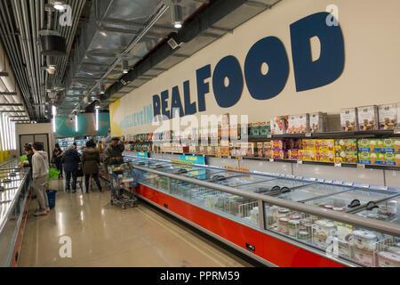 Whole Foods 365 market Brooklyn NY - Stock Photo