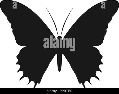 Butterfly silhouette logo icon design template vector - Stock Photo