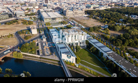 German Chancellery or Bundeskanzleramt, Berlin ,Germany, - Stock Photo