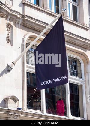 Dolce & Gabbana Store, New Bond Street, London, England, UK, GB. - Stock Photo