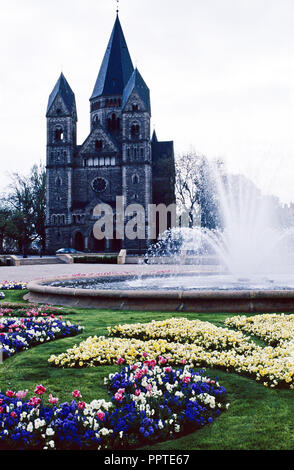 Temple Neuf,Metz,France - Stock Photo