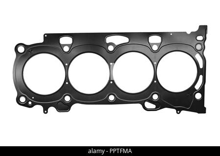 car gasket cylinder head of the internal combustion engine - Stock Photo