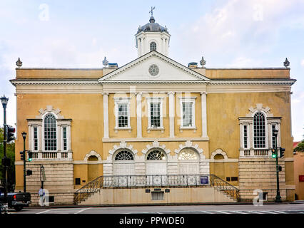 The Old Exchange and Provost Dungeon is pictured, April 5, 2015, in Charleston, South Carolina. - Stock Photo