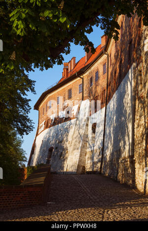 Krakow, Poland : Exterior walls of the Unesco listed Wawel Royal Castle on Wawel Hill. - Stock Photo