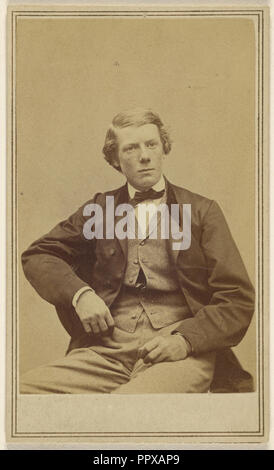 J.R. Milligan, Pittsburgh, Penna; George Kendall Warren, American, 1834 - 1884, 1865 - 1870; Albumen silver print - Stock Photo