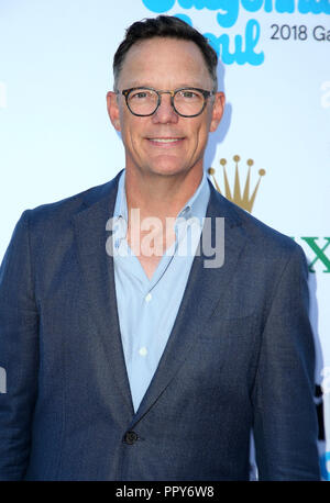 September 27, 2018 - Los Angeles, California, U.S. - 27 September 2018 - Los Angles, California - Matthew Lillard.  100th LA Philharmonic Opening Night Gala held at The Walt Disney Concert Hall. Photo Credit: Faye Sadou/AdMedia (Credit Image: © Faye Sadou/AdMedia via ZUMA Wire) - Stock Photo