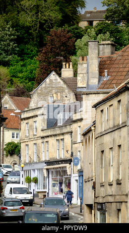 Bradford-on-Avon, a historic wollen town in wiltshire england uk - Stock Photo