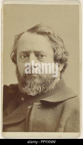 John Frederick Kensett, 1818 - 1872, Sarony & Co; about 1870; Albumen silver print - Stock Photo