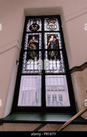 The Merchants House of Glasgow Scotland Staircase - Stock Photo