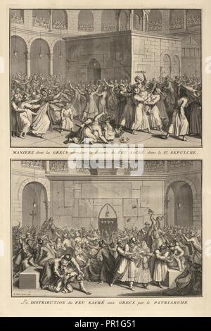 Ceremonies et coutumes religieuses de tous les peuples du monde, 1723-1743 - Stock Photo