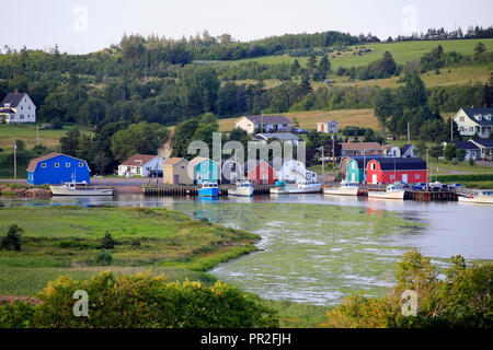 Village of French Village in Prince edward island, canada - Stock Photo