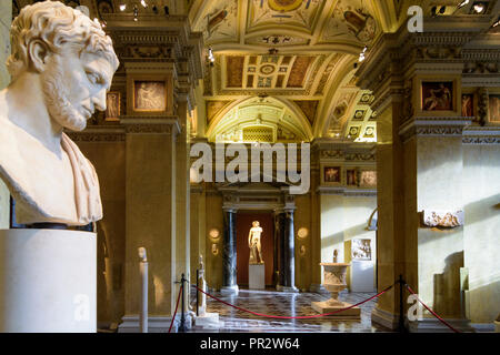 Wien, Vienna: Kunsthistorisches Museum (KHM, Museum of Art History, Museum of Fine Arts), Antikensammlung (Collection of Greek and Roman Antiquities), - Stock Photo