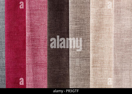 Textile samples background in your admirable tones. - Stock Photo