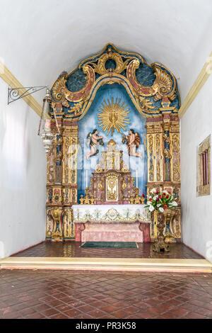 Olinda, Pernambuco, Brazil - JUL, 2018: Cathedral Alto da Se, founded in 1537 - Stock Photo