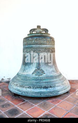 Olinda, Pernambuco, Brazil - JUL, 2018: Bell in Cathedral Alto da Se, founded in 1537 - Stock Photo