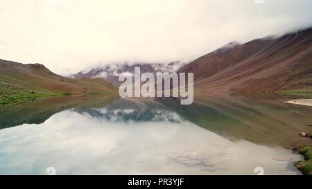 Beautiful Chandra Taal - Stock Photo