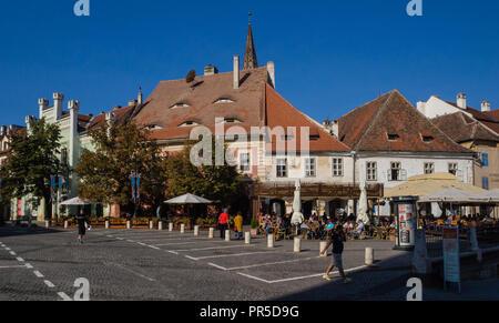 Scenes from Sibiu - Stock Photo
