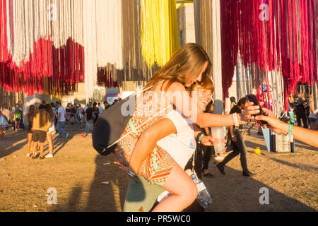 Lollapalooza music festival 2018 Berlin - Stock Photo