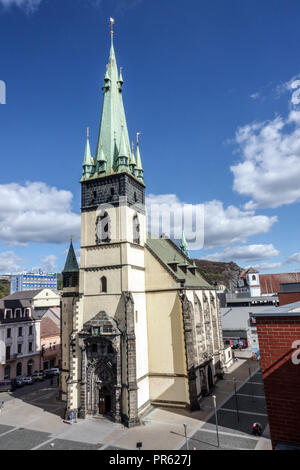 Church, Usti Nad Labem, Czech Republic - Stock Photo