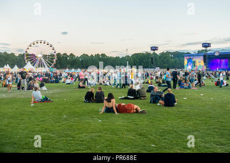 Berlin Lollapalooza music festival 2018 - Stock Photo