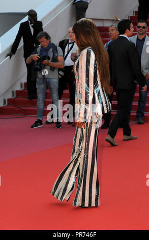 May 11th, 2018 - Cannes  Mia Frye attends the 71st Cannes Film Festival 2018. - Stock Photo