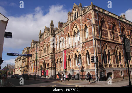 Royal Albert Memorial Museum Exeter Devon UK - Stock Photo