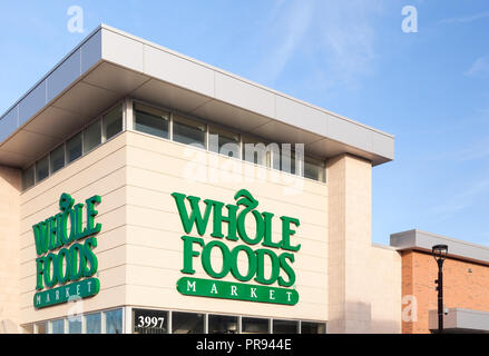 A Whole Foods Market store in Markham, Ontario, Canada. - Stock Photo