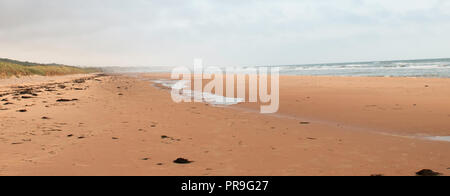 Omaha Beach, the site of Normandy Beach, France - Stock Photo