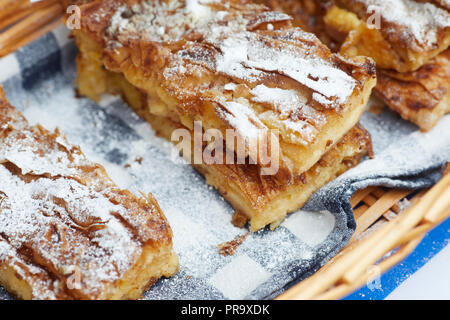 Apple cakes - Stock Photo