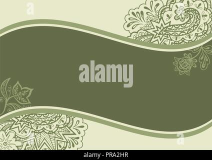 Backgrounds with Floral Pattern - Stock Photo
