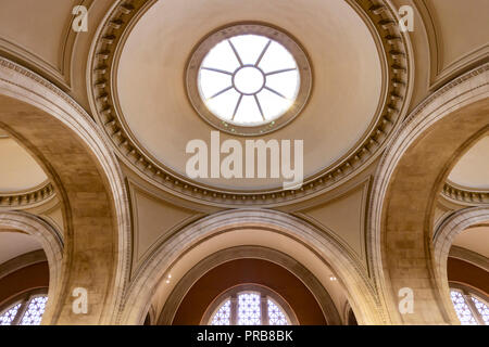 New York City, USA - October 8, 2017: Interior View of the Metropolitan Museum of Art in New York City. - Stock Photo