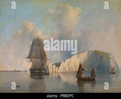 Cooke  Edward William - off the Needles  Isle of Wight - Stock Photo