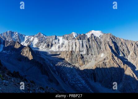 Central Asia, Kyrgyzstan, Bishkek, Ala Archa National Park - Stock Photo