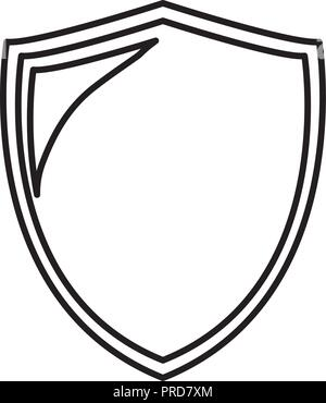 security shield protection icon vector illustration design - Stock Photo