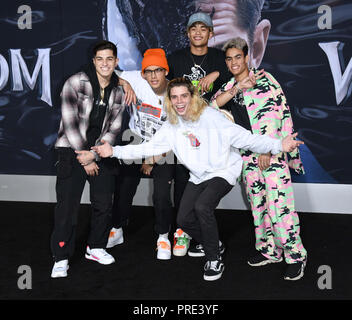 Westwood, CA, USA. 1st Oct, 2018. 01 October 2018 - Westwood, California - Pretty Much. ''Venom'' Los Angeles Premiere held at Regency Village Theater. Photo Credit: Birdie Thompson/AdMedia Credit: Birdie Thompson/AdMedia/ZUMA Wire/Alamy Live News - Stock Photo