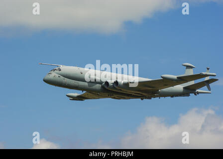 BAE Systems Nimrod MRA4 maritime patrol and attack aircraft intended to replace the Hawker Siddeley Nimrod MR2. Anti submarine warfare. ZJ518. Axed - Stock Photo