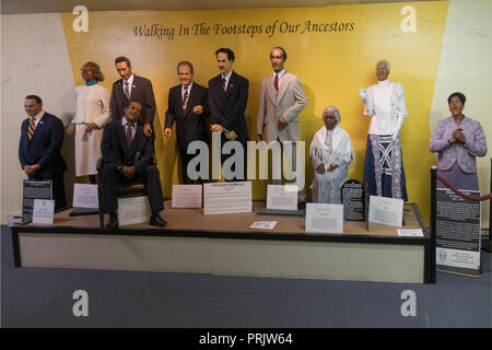 The National Great Blacks in Wax Museum Baltimore MD - Stock Photo