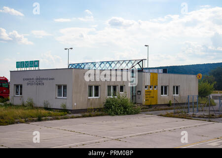 Disused customs office between Austria and Slovakia