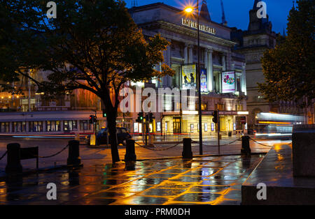 The Historic Empire Theatre, Lime St, Liverpool. Image taken in September 2018. - Stock Photo