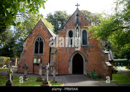 St. Augustine`s Catholic Church, Kenilworth, Warwickshire, England, UK - Stock Photo