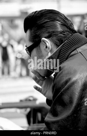 The Strangers in Yoyogi Park, Tokyo New York - Stock Photo