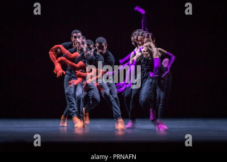 London, UK. 3rd Oct 2018. William Forsythe – A Quiet Evening of Dance at Sadler's Wells. Credit: Guy Corbishley/Alamy Live News - Stock Photo
