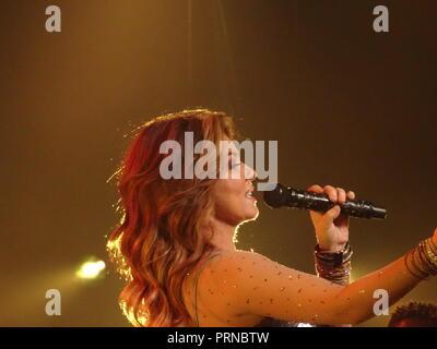 London, UK. 3rd October, 2018. Shania Twain Live at The O2 London 3rd October 2018 Credit: Kim Jackson/Alamy Live News - Stock Photo
