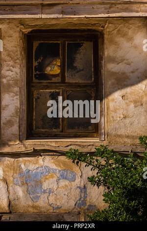 Window of a traditional Turkish house from Odunpazari , Eskisehir - Stock Photo