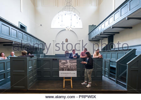 Kilmainham Court at Kilmainham Gaol, Kilmainham, Dublin, Leinster, Ireland - Stock Photo