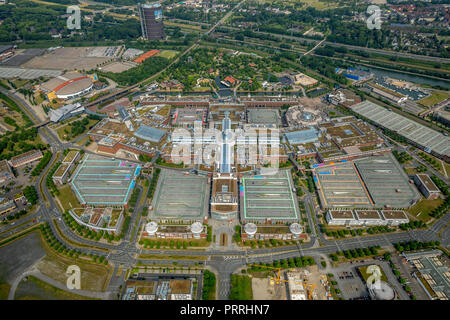 Centro Oberhausen, shopping centre, Neue Mitte, Oberhausen, Ruhr area, North Rhine-Westphalia, Germany - Stock Photo