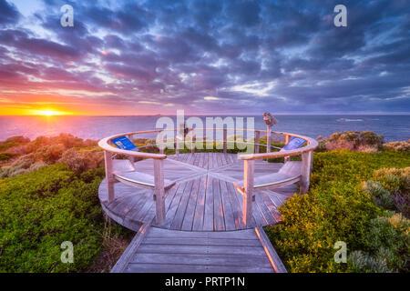 Cape Leeuwin Lighthouse - Stock Photo