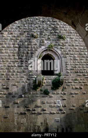 Castle of Lagopesole, Basilicata, Italy - Stock Photo