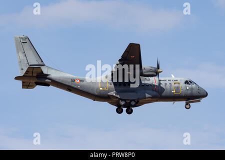 French Air Force (Armee De LÕAir) CASA CN-235 twin engine transport aircraft. - Stock Photo
